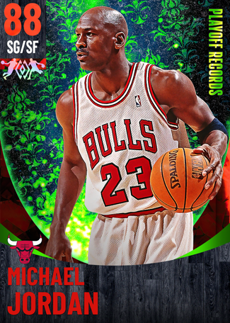 '95 Michael Jordan ruby card