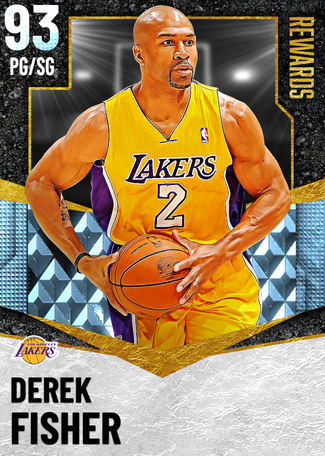 '14 Derek Fisher diamond card