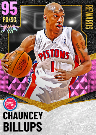 '14 Chauncey Billups pinkdiamond card