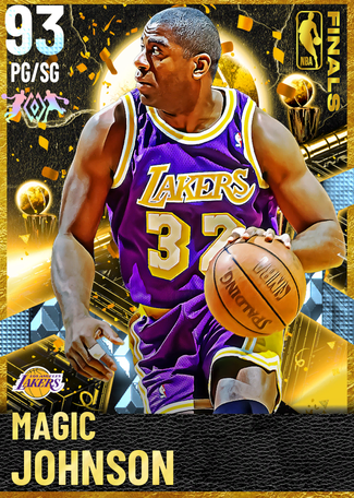 '91 Magic Johnson diamond card