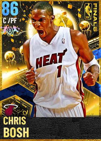 '12 Chris Bosh sapphire card
