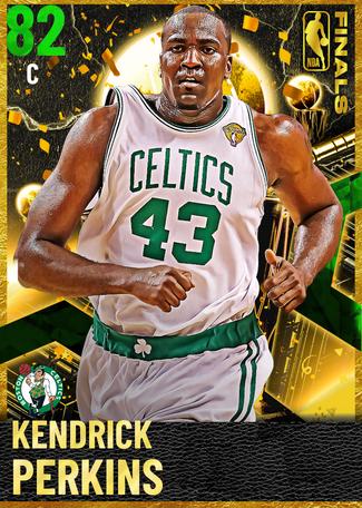 '08 Kendrick Perkins emerald card