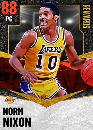 '82 Norm Nixon ruby card