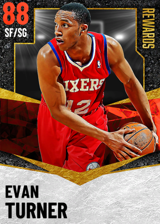 '12 Evan Turner ruby card