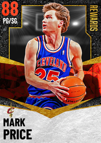 '90 Mark Price ruby card