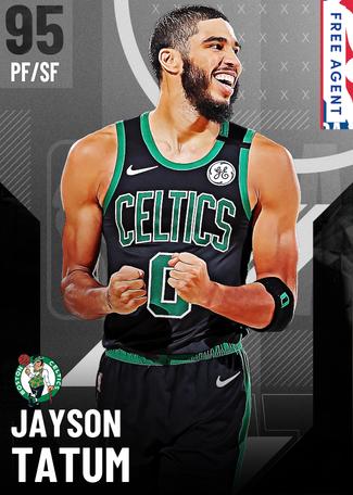 Jayson Tatum onyx card