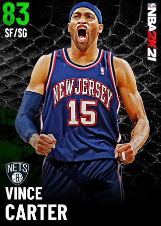'06 Vince Carter emerald card