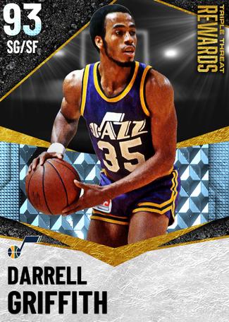 '84 Darrell Griffith diamond card