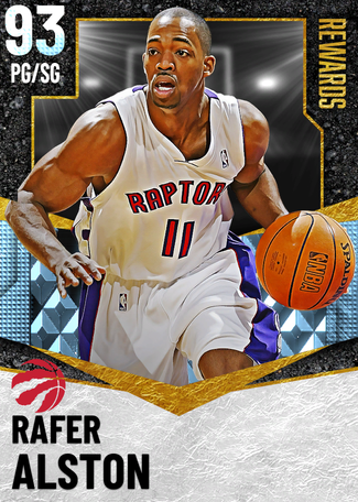 '04 Rafer Alston diamond card