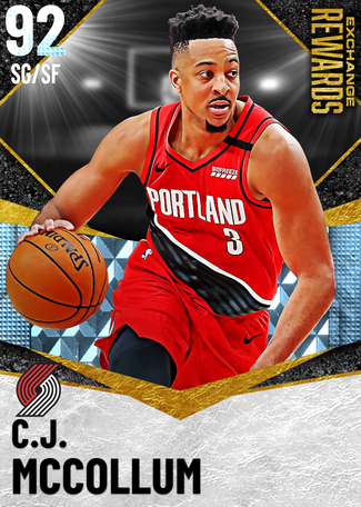 C.J. McCollum diamond card