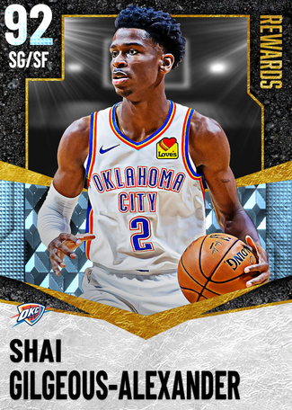 Shai Gilgeous-Alexander diamond card