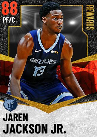 Jaren Jackson Jr. ruby card