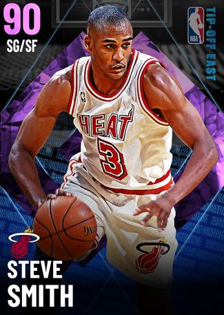 '94 Steve Smith amethyst card