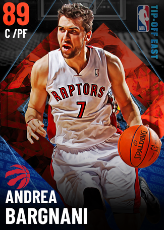 '07 Andrea Bargnani ruby card