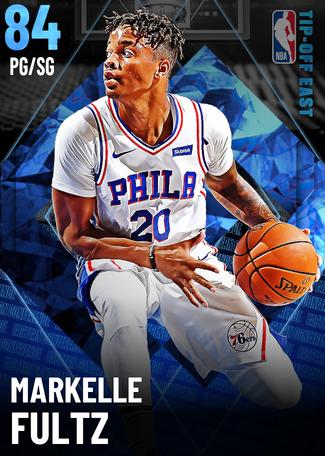 Markelle Fultz sapphire card