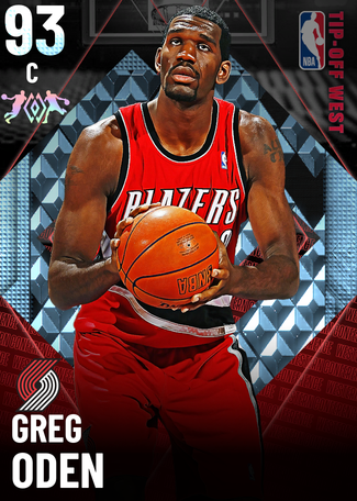 Greg Oden diamond card