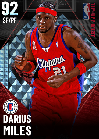 '09 Darius Miles diamond card