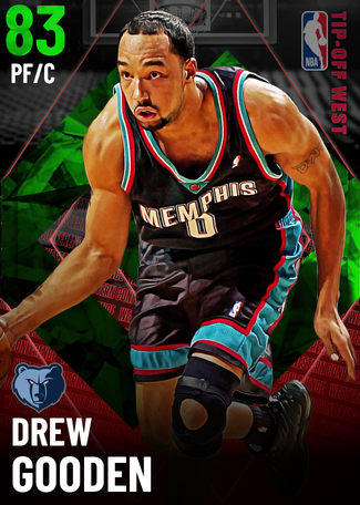 '07 Drew Gooden emerald card