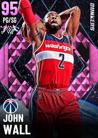 '19 John Wall pinkdiamond card
