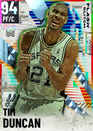 '02 Tim Duncan diamond card