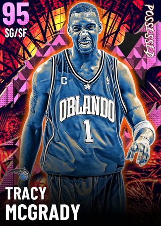 '04 Tracy McGrady pinkdiamond card