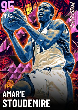 '05 Amar'e Stoudemire pinkdiamond card