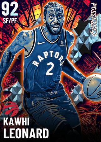 Kawhi Leonard diamond card
