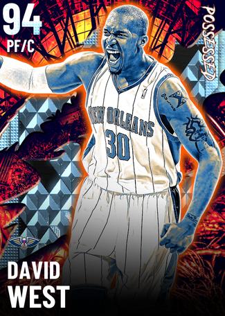 David West diamond card
