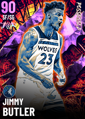 Jimmy Butler amethyst card