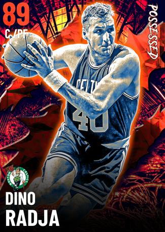 '94 Dino Radja ruby card