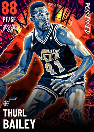 '88 Thurl Bailey ruby card