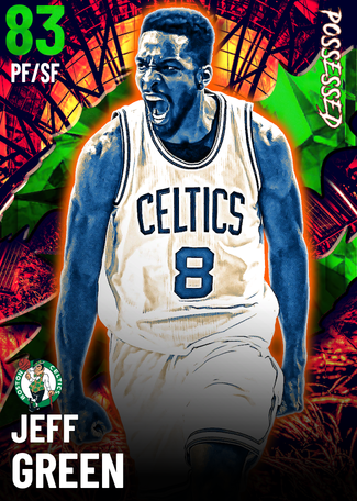 Jeff Green emerald card