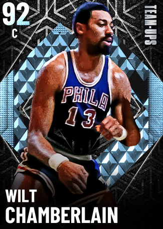 '66 Wilt Chamberlain diamond card