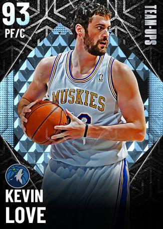 '19 Kevin Love diamond card