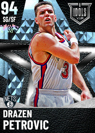 '92 Drazen Petrovic diamond card