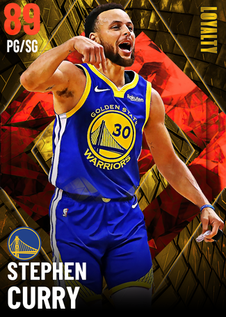 Stephen Curry ruby card