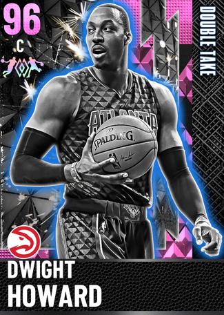 '11 Dwight Howard pinkdiamond card