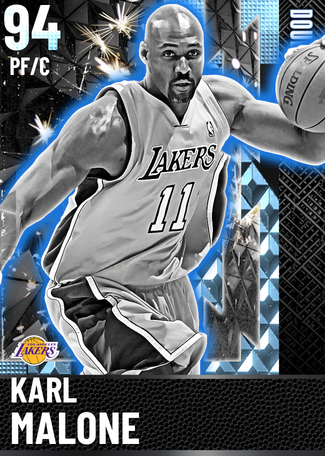 '04 Karl Malone diamond card