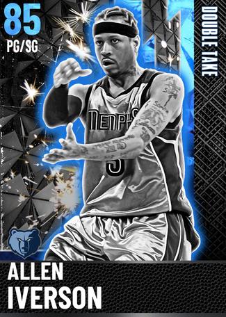 '04 Allen Iverson sapphire card