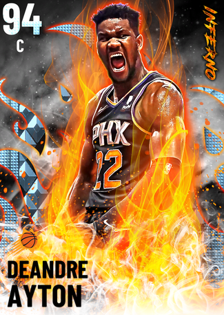 Deandre Ayton diamond card