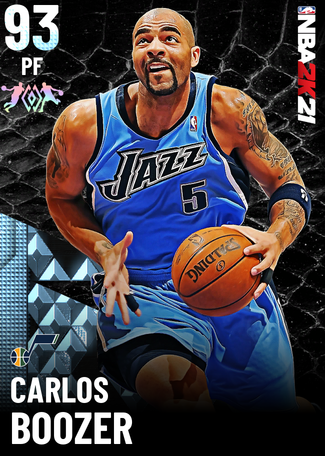 '07 Carlos Boozer diamond card