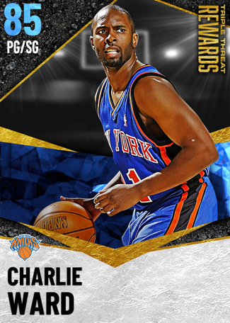 '95 Charlie Ward sapphire card