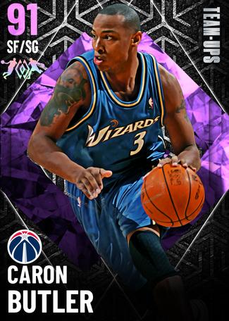 '16 Caron Butler amethyst card