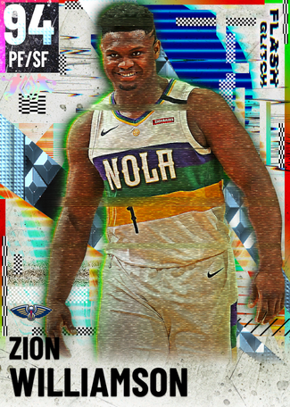 Zion Williamson diamond card