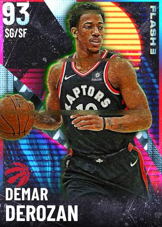 '17 DeMar DeRozan diamond card
