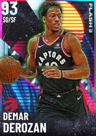 '17 DeMar DeRozan diamond card