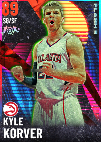 '15 Kyle Korver ruby card