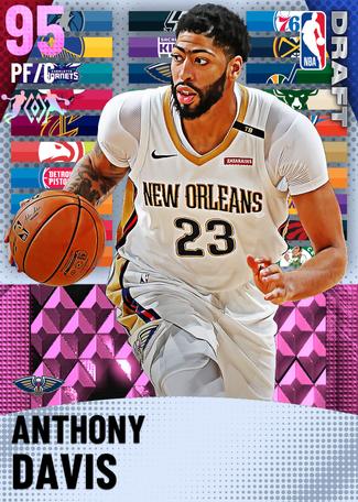 Anthony Davis pinkdiamond card