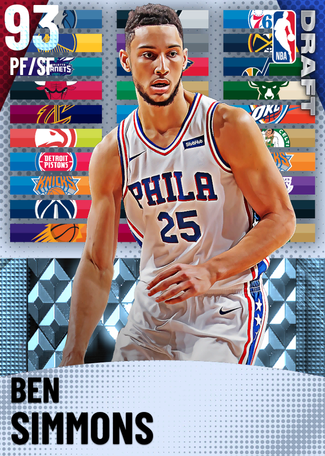 Ben Simmons diamond card