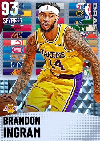 Brandon Ingram diamond card